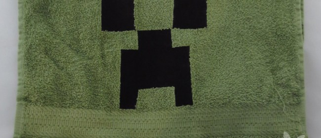 Creeper Face Hand Towel