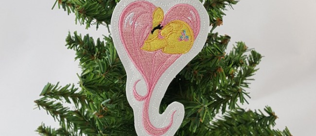 Fluttershy Ornament and Onesie