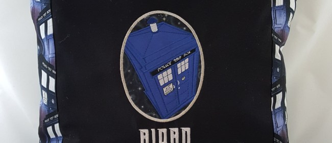 Aidan TARDIS Pillow