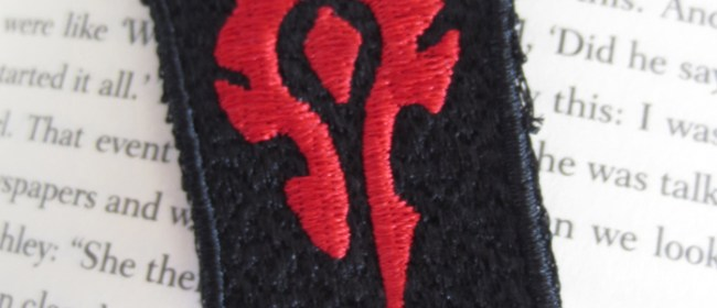 Horde Elastic Bookmark