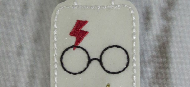Harry Potter Name Tag/Keychain