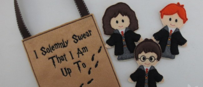 Harry Potter Felt Finger Puppets