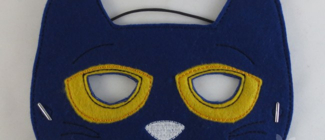Pete The Cat Felt Child's Mask