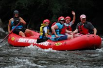 Whitewater rafting in the Smokies. - Robin M.