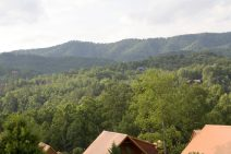 Smoky Mountain view from the White Oak Lodge and Resort.