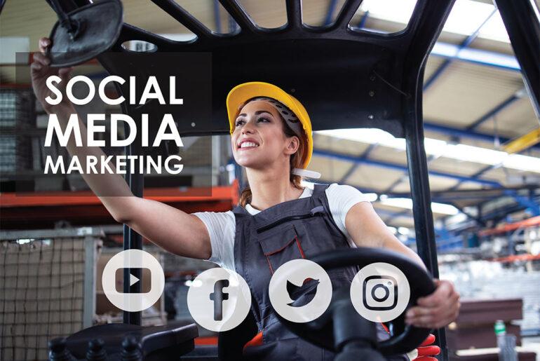 social media marketing for a dropshipping store