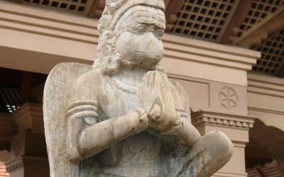 Hanumanji: a lifetime of selfless devotion.