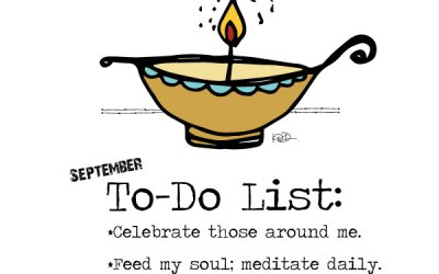 Ready to celebrate, meditate & love deeply!