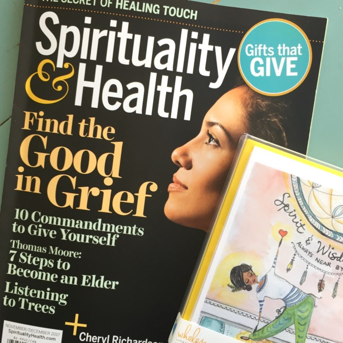 We were featured in Spirituality and Health