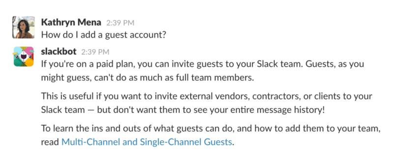 slackbot example
