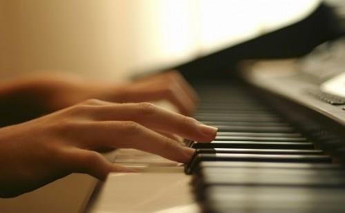 занятия на пианино