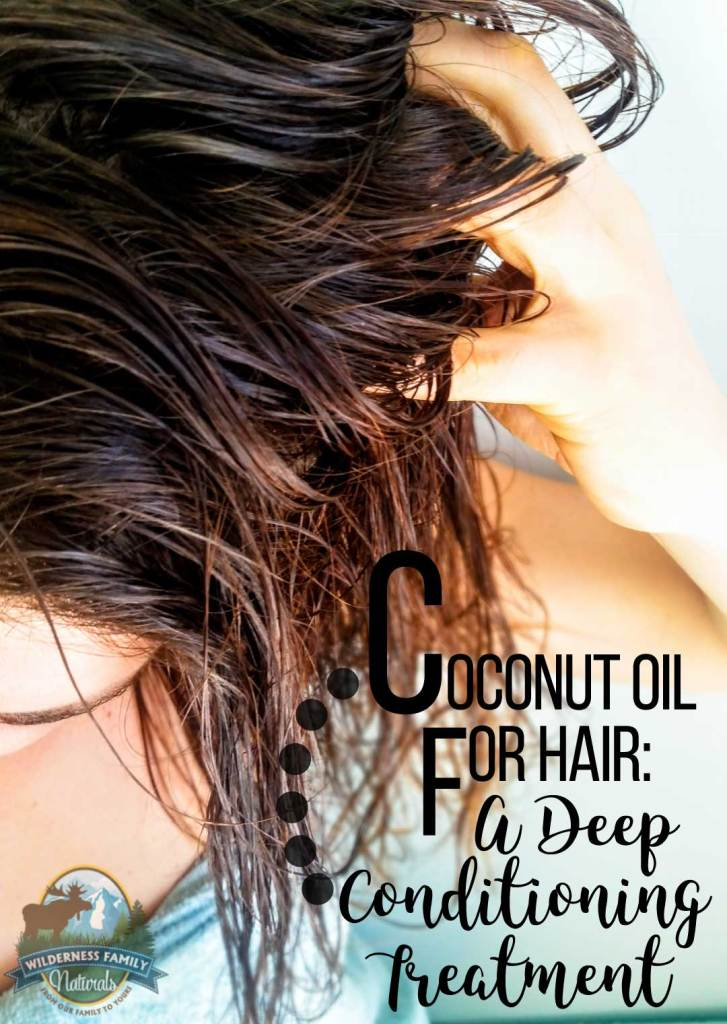 Coconut Oil For Hair A Deep Conditioning Treatment