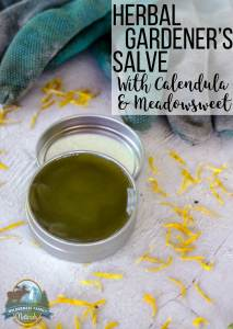 Herbal Gardener's Salve With Calendula & Meadowsweet