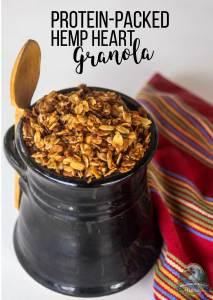 Protein-Packed Hemp Heart Granola