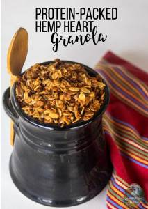 Protein-Packed Hemp Heart Granola