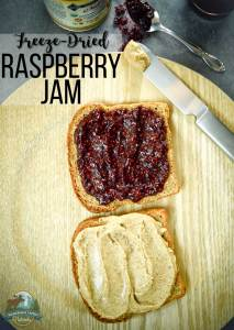 Freeze-Dried Raspberry Jam