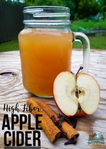 High Fiber Apple Cider