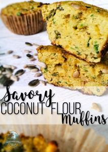 Savory Coconut Flour Muffins