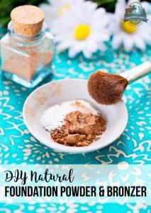DIY Natural Foundation Powder & Bronzer