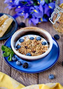 Activated Seed Granola (a grain-free, nut-free granola recipe!) | No more refined sugar or rancid vegetable oils in granola! Here's a protein-rich, nut-free granola recipe that's full of enzymes and plant-based protein. It's vegan, gluten-free, and grain-free, too! | WildernessFamilyNaturals.com