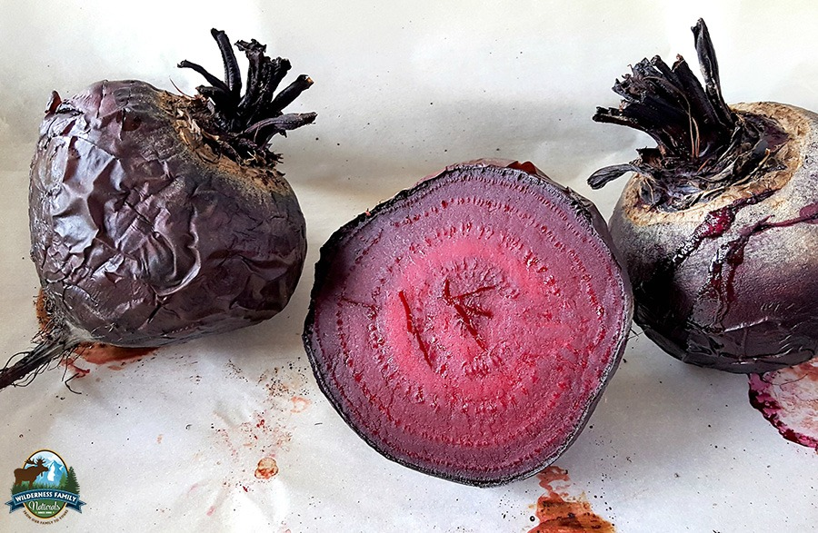 Roasted Garlic Beet Dip {for beet haters!} | Beets. Either you love 'em or you hate 'em. Something magical happens when you roast beets! Blended with roasted garlic, this grain-free beet dip is an easy snack or appetizer to serve with veggies or crackers. Even beet-haters will love it! | WildernessFamilyNaturals.com