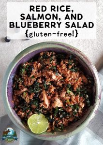Red Rice, Salmon, & Blueberry Salad {gluten-free!}