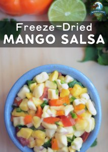 Freeze-Dried Mango Salsa