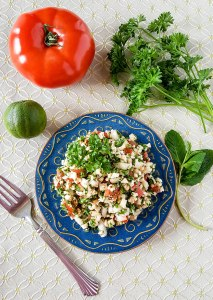 Low-Carb Paleo Tabbouleh