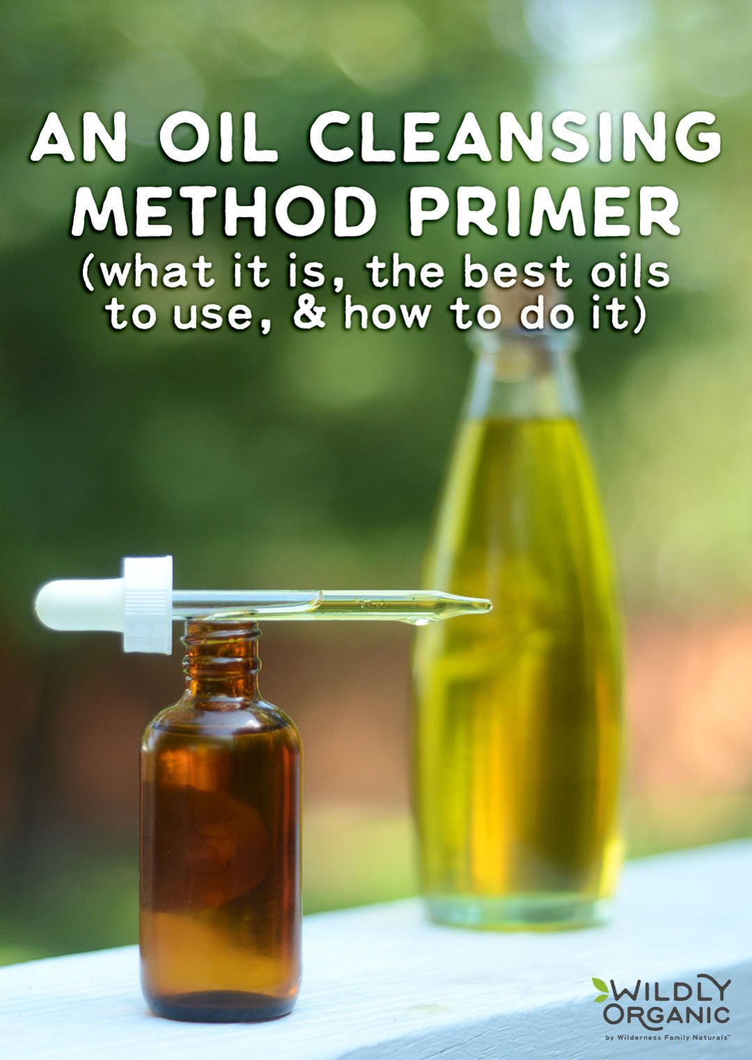 "An Oil Cleansing Method Primer (what it is, the best oils to use, & how to do it!) | Suitable for all skin types, the Oil Cleansing Method is a simple and effective way to clean skin without harsh chemicals or soaps. Here's an Oil Cleansing Method Primer - learn how to ""wash"" your face with oil for super soft, glowing skin! 