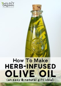 Herb-infused oil looks like a gourmet treat, but iseasy to make and can be a wonderfully unique gift. With high-quality olive oil and a bit of planning ahead, you can learn how to make herb-infused olive oil with any of your favorite herbs or spices -- like basil, rosemary, thyme, chilies, or garlic! Herb-infused oils look beautiful and taste delicious in cooking!