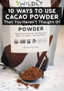 10 Ways To Use Cacao Powder That You Haven't Thought Of