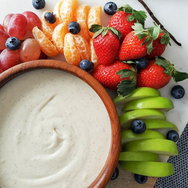 Vegan Coconut Butter and Vanilla Bean Fruit Dip (with a ...