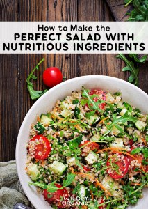 Photo of quinoa salad   How to Make the Perfect Salad with Nutritious Ingredients   Ever wonder how to make the perfect salad with nutritious ingredients? It's not as hard as you may think. Here are some tips to get you started!