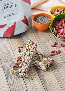 No Bake Superfood Granola Bars {gluten-free, dairy-free, vegan, real food}