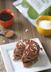 Paleo Coconut Pancakes {gluten-free, dairy-free}