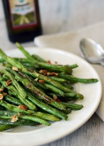 Roasted Green Beans with Pecans {Gluten-Free, Dairy-Free, Paleo}