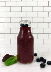 Fat-Burning Antioxidant Berry Smoothie {gluten-free, dairy-free, vegan}