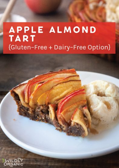 Apple Almond Tart {Gluten-Free + Dairy-Free Option}