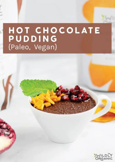 Hot Chocolate Pudding {Paleo, Vegan}