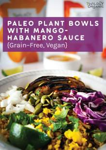 Bowl with food in it and Wildly Organic packaging in the backgroundblog post image