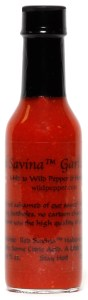 RED SAVINA GARLIC HOT SAUCE