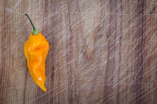 yellow fatali chili pepper