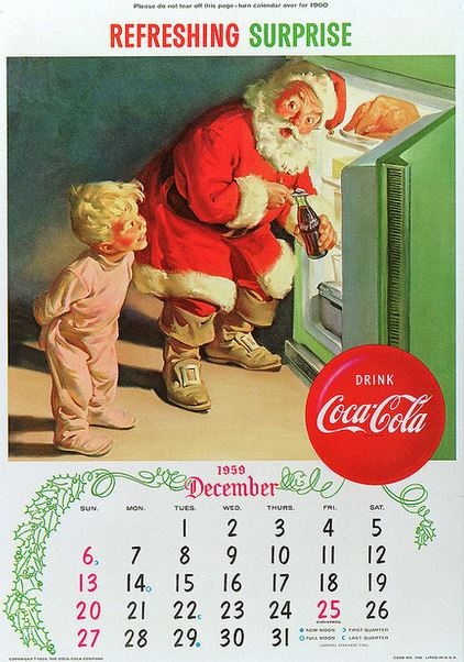 1959 Refreshing Surprise calendar flickr
