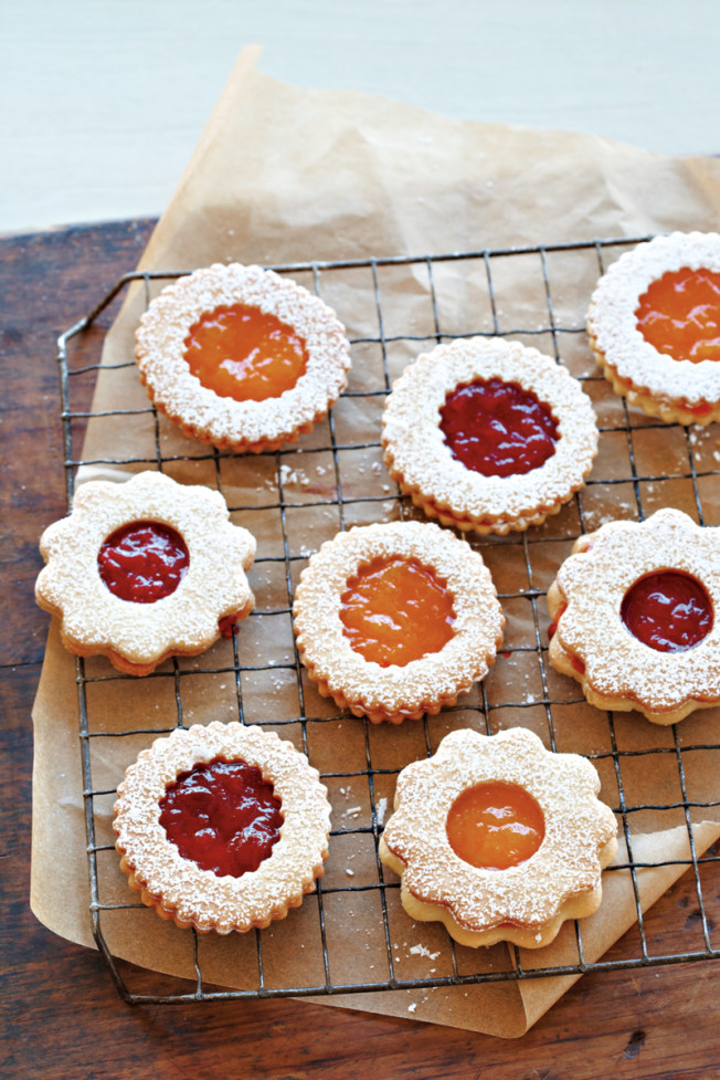 Cookie Of The Day Strawberry Jam Sandwich Cookies