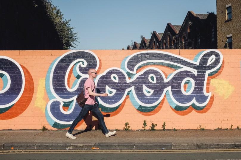 Tag good sur un mur