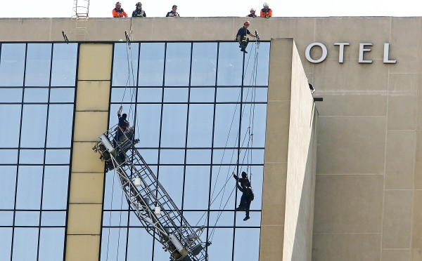 Window Cleaning Gone Very Wrong