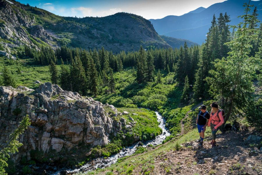 Hiking and guided hikes are some of the top activities at Winter Park