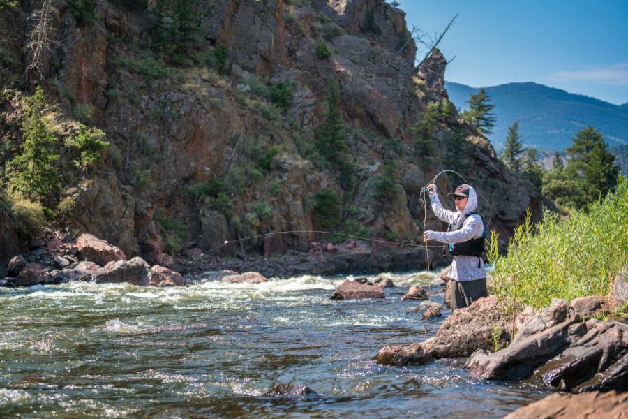 Unique spots for a fly fishing adventure in Colorado
