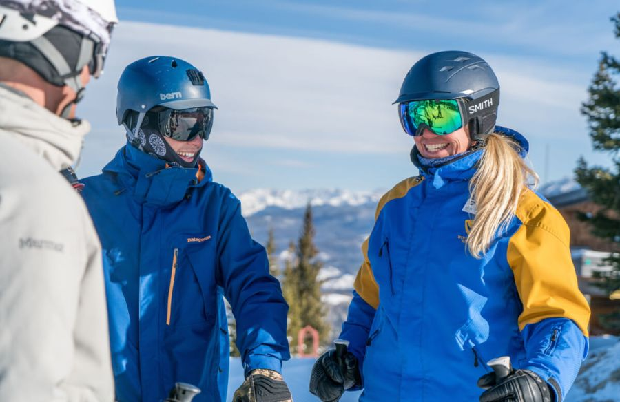 Ski and Ride School lesson.