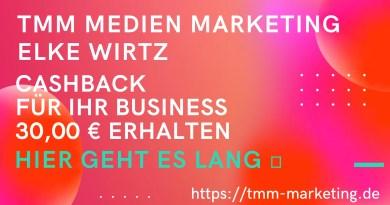 TMM Cashback 30,00 EUR